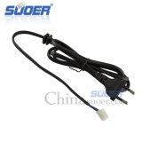 Suoer 1.5m Zuivere Kabel van de Macht van het Koper met Terminal (B08020146)