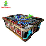Rey del dragón del trueno de la máquina de juego de arcada del cazador de los pescados de los tesoros