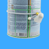 Etiqueta dura antirrobo de la hebilla de la potencia de la leche del bloqueo 58kHz de la botella de EAS