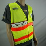 Hi Visibility Vest with Crystal Types, Made off Mesh Fabric. Direct Factory
