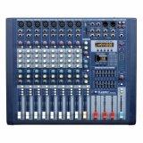 Mezclador de audio profesional con alimentación fantasma de +48