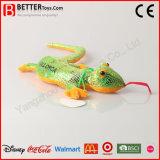 Brinquedo macio barato do lagarto do animal enchido do luxuoso para miúdos/crianças