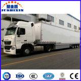 Tipo Furgão Semi-Trailer especial alumínio para transportar carvão/clínquer/Cimento