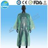 Abiti medici di plastica a gettare, abiti blu standard del PE