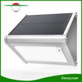 屋外IP65は24のLEDのアルミニウム太陽庭の壁ライトをつけるマイクロウェーブレーダーセンサーの機密保護を防水する