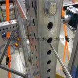 El telescoparse galvanizado y tubo perforado