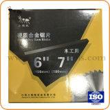 """7つの"""" 80t円の炭化物の切断のディスクのハードウェアのツールTctはアルミニウム木については鋸歯を"""