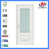Pre покрашенная белая нутряная дверь офисного здания (JHK-008-1)