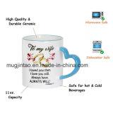 Tazza di caffè magica del cambiamento di colore della tazza di ceramica stabilita del regalo dell'articolo da cucina