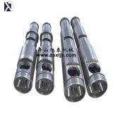 65/132 Sjz barril extrusora de tornillo para tubería de PVC