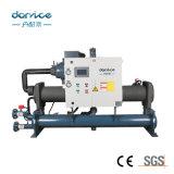 100 ton resfriado a água Tipo de compressor de parafuso Hanbell Chiller de Agua