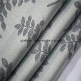 2018 il tessuto grigio di vendita caldo del panno della tenda della stanza del poliestere del foglio