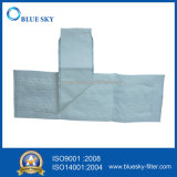 Non-Wovemn HEPA filtro de polvo bolsa con el manguito para el vacío