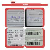 Impresora del código de barras/impresora de la bolsa de plástico de la inyección de tinta