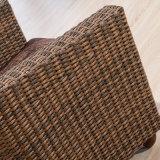 Mobilia del sofà del tessuto del rattan per il ristorante 8033-13 hotel/del salone