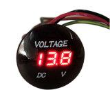 Digital-Voltmeter, Vstm Batterie-Anzeigeinstrument 12V-24V Digitalanzeigen-Voltmeter Gleichstrom-