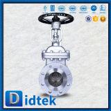 Didtek Handrad-Flansch-Edelstahl Lcb Absperrschieber für Raffinerie