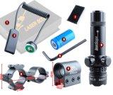 전술상 난조 Riflescope 마운트에 권총을%s 조정가능한 녹색 Laser 점 범위 광경