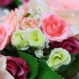 Corone floreali artificiali di nuovo modo poco costoso di stile per la parete del negozio