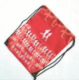 고품질 Packbag 도매 체조 세탁물 대마 졸라매는 끈 부대를 세척하는 주문 로고 화포