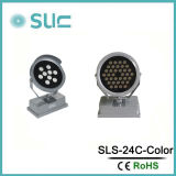 45W CA220-240V RGBW Outdoor LED Spot Light