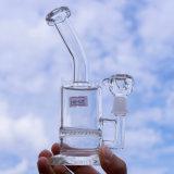 Hv025小さいガラスの煙る配水管、卸売の最もよい品質の店の工場ガラス管の高品質の再資源業者のタバコ高いカラーガラスクラフトAsht