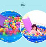 Trasparenza dell'interno di plastica dei giocattoli dei capretti con il raggruppamento di acqua gonfiabile del raggruppamento della sfera del cerchio di pallacanestro