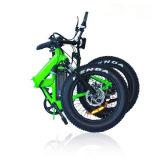 """Vélo électrique de mini pliage approuvé de la CE avec le pneu de la graisse 20 """" *4.0"""