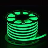 De waterdichte Flex Melkachtige Plastic Strook van het Neon SMD2835 Lichte 220V