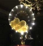 Kerstmis en Ballon van de Bel van de Decoratie van Halloween de Transparante