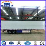 전송 석탄을%s Special Aluminium 밴 Type Semi-Trailer 또는 클링커 또는 시멘트