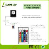 Indicatore luminoso di inondazione esterno di RGB LED del riflettore di telecomando