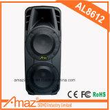 '' doppelter Lautsprecher 12 mit saurer Karte der Batterie-/Bluetooth/USB/SD/TF/Sprachsendung/Mic Jack/Gitarre Jack