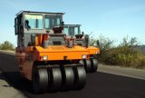 タイヤのローラー27トンの空気の振動の道ローラーのコンパクター