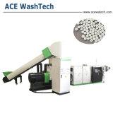 PE de Film/PP Geweven Bags/ABS PS van pp Machine van de Korrels van het Recycling van de Vlok