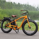 """"""" bicicleta eléctrica del neumático gordo 26 para el viaje de la montaña con Ce"""