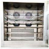 Congelador de ráfaga para el alimento de la bola de masa hervida de los pescados