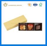 Caixa de papel de empacotamento do chocolate da caixa dos doces para a caixa do presente/chocolate