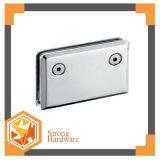Dobradiça do chuveiro do encaixe da porta do aço inoxidável de 0 graus