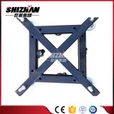 Base d'acciaio del fascio con gli accessori di alluminio bassi di alluminio del fascio della rotella