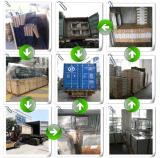 De goedkope Deur van de Gordijnstof van het Aluminium met Dubbele die Verglazing in China wordt gemaakt
