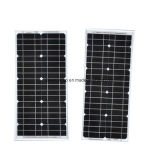 panneau solaire monocristallin de picovolte du rendement 45W plus élevé pour le réverbère