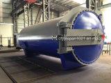 2017 Nouvelle conception de haut en verre de sécurité Verre Autoclaven réacteur pour le traitement thermique de contrecollage