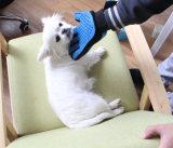 Haustier-Reinigungs-Shampoo-Gehilfen-Pflegenhandschuh-Hund, der Hilfsmittel badet