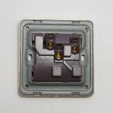 13A/250V un interruptor eléctrico del enchufe de pared con interruptor de neón