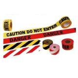 Nastro d'avvertimento stampato abitudine all'ingrosso di rischio del PE