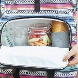 Saco térmico do piquenique do almoço do refrigerador do poliéster portátil relativo à promoção