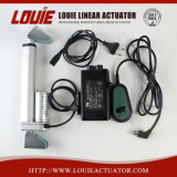 Estructura compacta de actuador lineal eléctrico con interruptor de límite