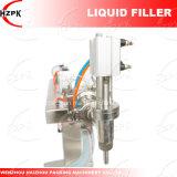 Cabezal único vertical de la máquina de llenado de agua de la máquina de llenado de líquido
