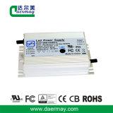 Condutor LED impermeável com certificação UL 120W 58V IP65